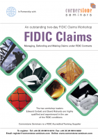 FIDIC Claims Dubai Dec 2019